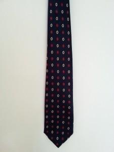 Fotolijstje gemaakt van een stropdas