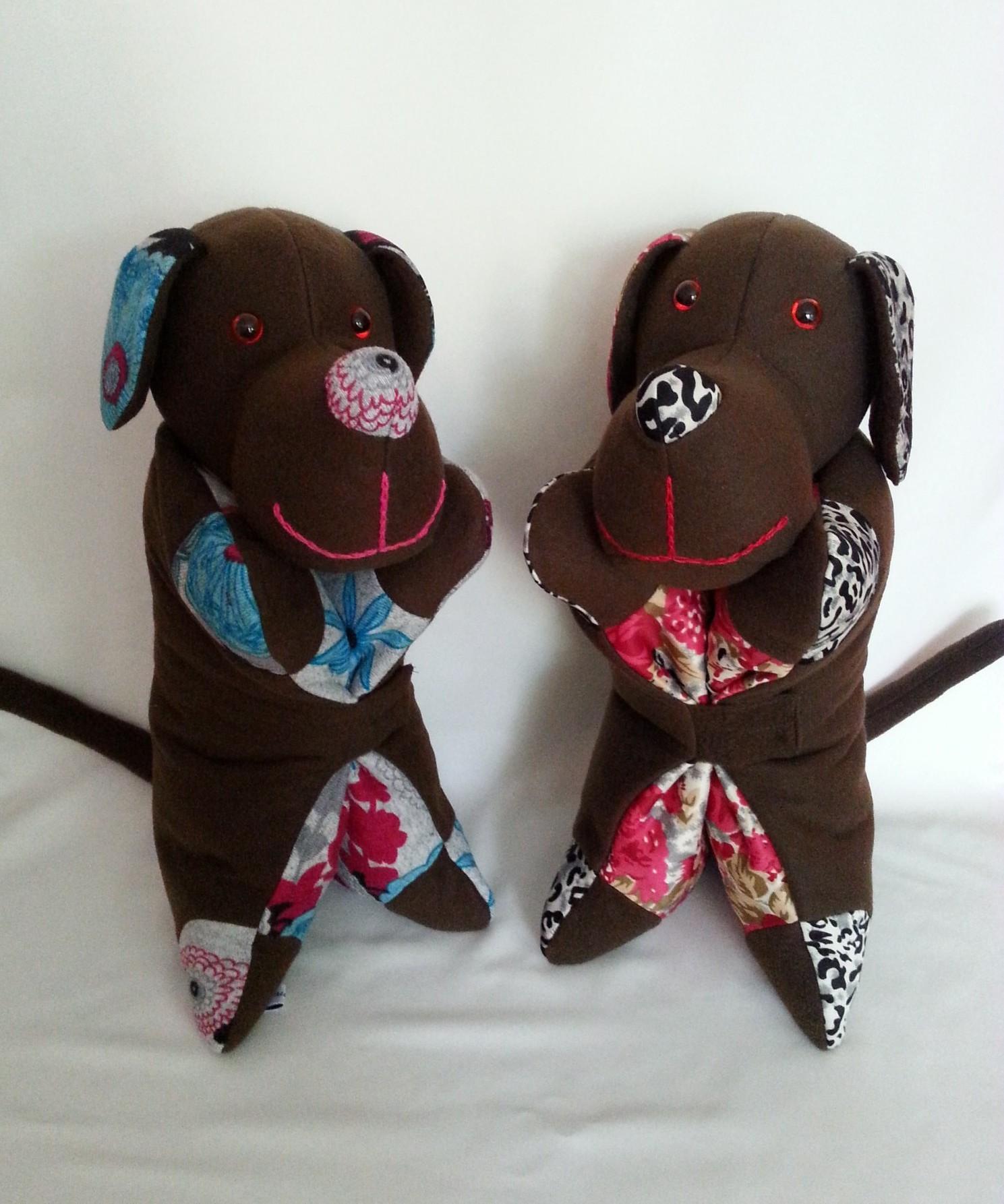 Knuffelkussens hond
